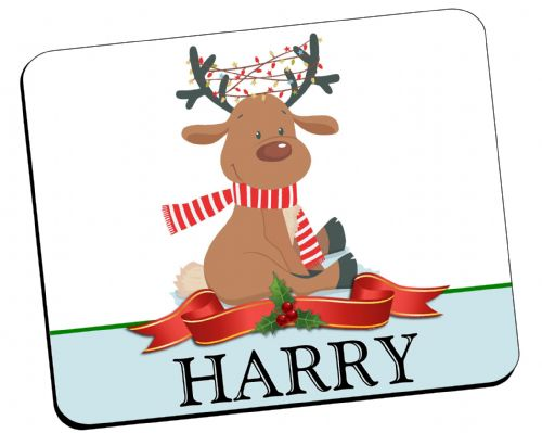 Personalised Christmas Table Placemat N22 - ANY NAME